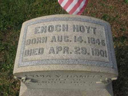 HOYT, ENOCH - Hunterdon County, New Jersey   ENOCH HOYT - New Jersey Gravestone Photos
