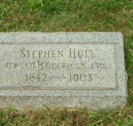 HULL, CORP. STEPHEN - Hunterdon County, New Jersey   CORP. STEPHEN HULL - New Jersey Gravestone Photos