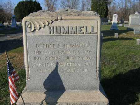 HUMMELL, SGT.GEORGE E. - Hunterdon County, New Jersey | SGT.GEORGE E. HUMMELL - New Jersey Gravestone Photos