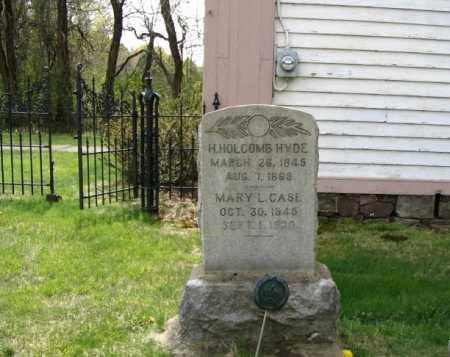 HYDE, HENRY HOLCOMB - Hunterdon County, New Jersey | HENRY HOLCOMB HYDE - New Jersey Gravestone Photos