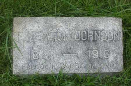 JOHNSON, FRANK NEWTON - Hunterdon County, New Jersey | FRANK NEWTON JOHNSON - New Jersey Gravestone Photos