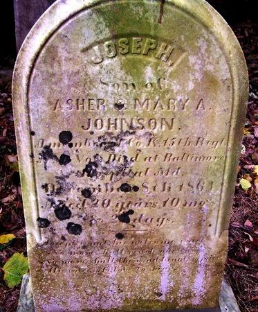 JOHNSON, JOSEPH - Hunterdon County, New Jersey | JOSEPH JOHNSON - New Jersey Gravestone Photos
