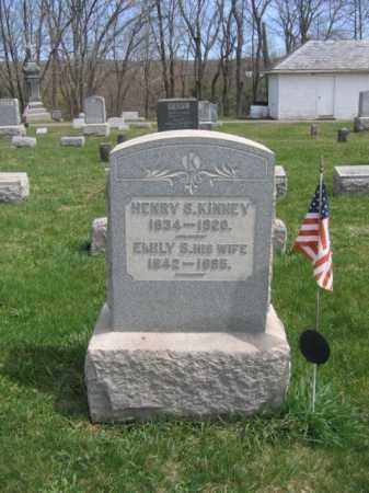 KINNEY, HENRY  S. - Hunterdon County, New Jersey | HENRY  S. KINNEY - New Jersey Gravestone Photos