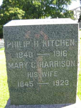 KITCHEN (KICHIN), PHILIP H. - Hunterdon County, New Jersey | PHILIP H. KITCHEN (KICHIN) - New Jersey Gravestone Photos