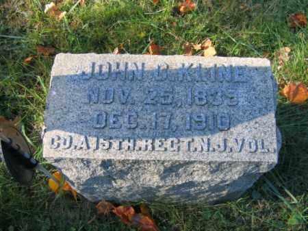 KLINE, CORP.JOHN C. - Hunterdon County, New Jersey   CORP.JOHN C. KLINE - New Jersey Gravestone Photos