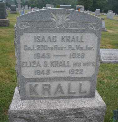 KRALL, ISAAC - Hunterdon County, New Jersey | ISAAC KRALL - New Jersey Gravestone Photos