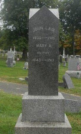 LAIR, JOHN - Hunterdon County, New Jersey   JOHN LAIR - New Jersey Gravestone Photos
