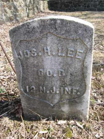 LEE, JOSEPH H. - Hunterdon County, New Jersey   JOSEPH H. LEE - New Jersey Gravestone Photos