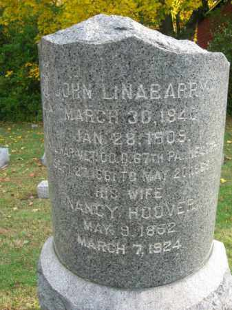 LINABARRY, PVT.JOHN - Hunterdon County, New Jersey   PVT.JOHN LINABARRY - New Jersey Gravestone Photos