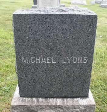 LYONS, MICHAEL - Hunterdon County, New Jersey | MICHAEL LYONS - New Jersey Gravestone Photos