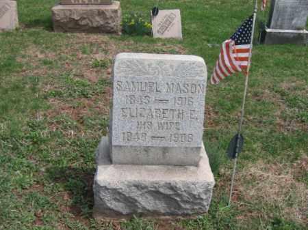 MASON, SAMUEL - Hunterdon County, New Jersey | SAMUEL MASON - New Jersey Gravestone Photos