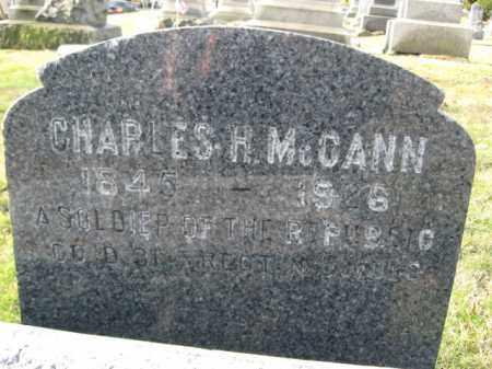 MCCANN, CHARLES H. - Hunterdon County, New Jersey | CHARLES H. MCCANN - New Jersey Gravestone Photos