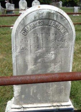 MERRIAM, CHARLES - Hunterdon County, New Jersey | CHARLES MERRIAM - New Jersey Gravestone Photos