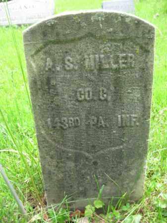 MILLER, ALEXANDER S. - Hunterdon County, New Jersey | ALEXANDER S. MILLER - New Jersey Gravestone Photos