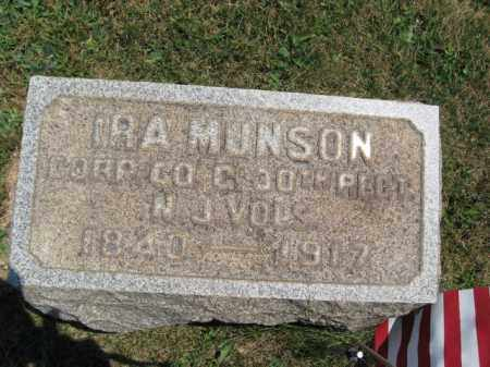 MUNSON, IRA - Hunterdon County, New Jersey | IRA MUNSON - New Jersey Gravestone Photos