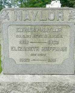 NAYLOR, EDWARD - Hunterdon County, New Jersey | EDWARD NAYLOR - New Jersey Gravestone Photos