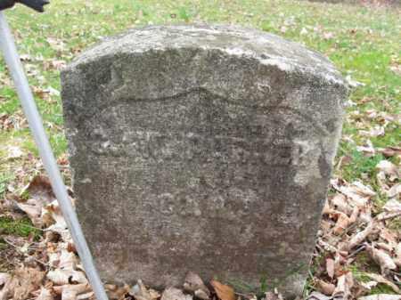 PARKER, GEORGE W. - Hunterdon County, New Jersey   GEORGE W. PARKER - New Jersey Gravestone Photos