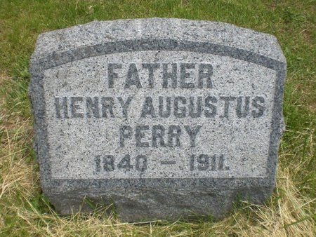 PERRY, HENRY AUGUSTUS - Hunterdon County, New Jersey | HENRY AUGUSTUS PERRY - New Jersey Gravestone Photos