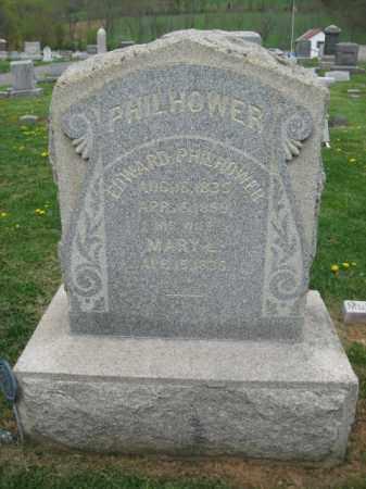 PHILHOWER, EDWARD - Hunterdon County, New Jersey   EDWARD PHILHOWER - New Jersey Gravestone Photos