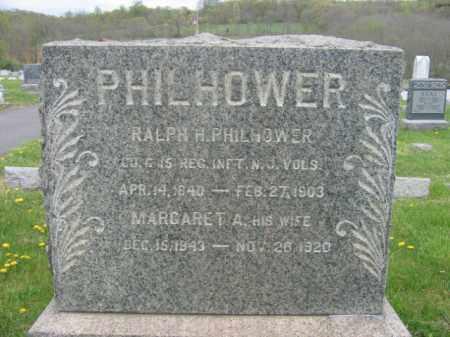 PHILHOWER, RALPH H. - Hunterdon County, New Jersey | RALPH H. PHILHOWER - New Jersey Gravestone Photos