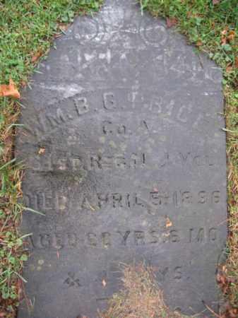 PRICE, WILLIAM B.G. - Hunterdon County, New Jersey | WILLIAM B.G. PRICE - New Jersey Gravestone Photos