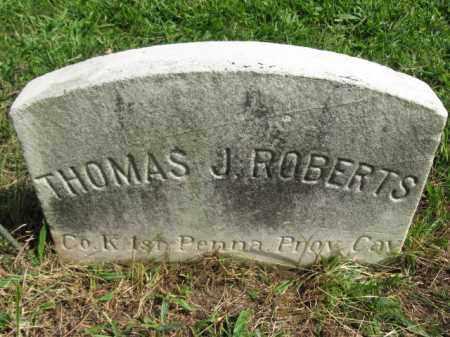 ROBERTS, THOMAS J. - Hunterdon County, New Jersey | THOMAS J. ROBERTS - New Jersey Gravestone Photos