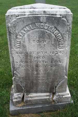 RODENBOUGH, WILLIAM L. - Hunterdon County, New Jersey | WILLIAM L. RODENBOUGH - New Jersey Gravestone Photos