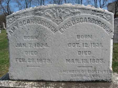 SCARBOROUGH, ENOS D. - Hunterdon County, New Jersey | ENOS D. SCARBOROUGH - New Jersey Gravestone Photos