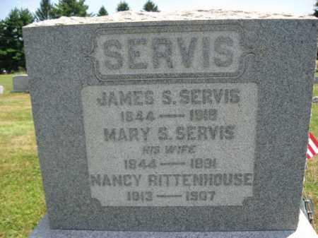 SERVIS, JAMES S. - Hunterdon County, New Jersey | JAMES S. SERVIS - New Jersey Gravestone Photos