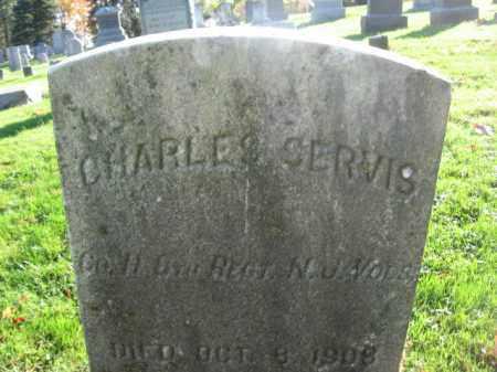 SERVIS (SERVICE), CHARLES - Hunterdon County, New Jersey | CHARLES SERVIS (SERVICE) - New Jersey Gravestone Photos