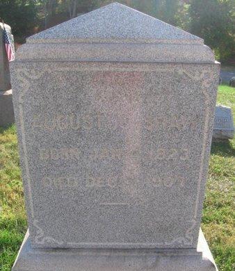 SHAW, AUGUSTUS - Hunterdon County, New Jersey   AUGUSTUS SHAW - New Jersey Gravestone Photos