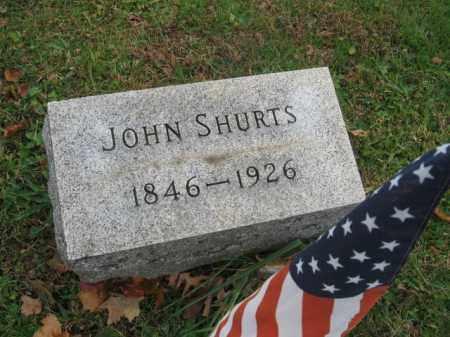 SHURTS, JOHN - Hunterdon County, New Jersey | JOHN SHURTS - New Jersey Gravestone Photos