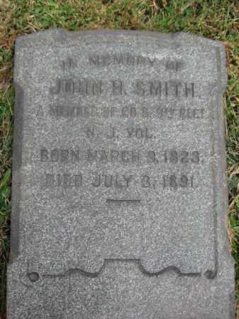 SMITH, JOHN H. - Hunterdon County, New Jersey | JOHN H. SMITH - New Jersey Gravestone Photos