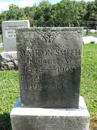 SMITH, MAHLON - Hunterdon County, New Jersey | MAHLON SMITH - New Jersey Gravestone Photos