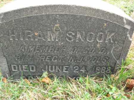 SNOOK, HIRAM - Hunterdon County, New Jersey | HIRAM SNOOK - New Jersey Gravestone Photos