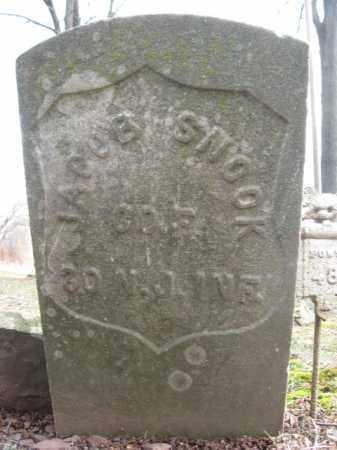 SNOOK, JACOB - Hunterdon County, New Jersey   JACOB SNOOK - New Jersey Gravestone Photos