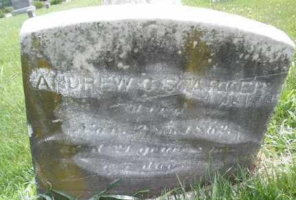 STARKER, ANDREW C. - Hunterdon County, New Jersey | ANDREW C. STARKER - New Jersey Gravestone Photos