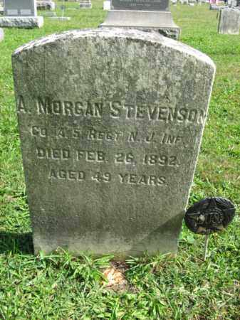 STEVENSON, A. MORGAN - Hunterdon County, New Jersey   A. MORGAN STEVENSON - New Jersey Gravestone Photos