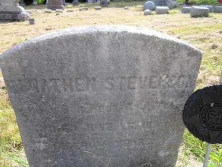 STEVENSON, ELNATHEN - Hunterdon County, New Jersey | ELNATHEN STEVENSON - New Jersey Gravestone Photos