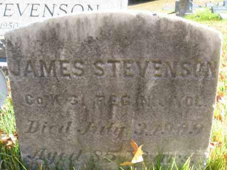 STEVENSON, JAMES - Hunterdon County, New Jersey | JAMES STEVENSON - New Jersey Gravestone Photos
