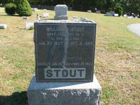 STOUT, WILLIAM  R. - Hunterdon County, New Jersey   WILLIAM  R. STOUT - New Jersey Gravestone Photos