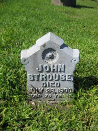 STROUSE, JOHN (JONATHAN) - Hunterdon County, New Jersey   JOHN (JONATHAN) STROUSE - New Jersey Gravestone Photos