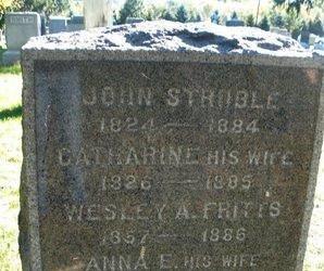 STRUBLE (STROBLE), JOHN - Hunterdon County, New Jersey   JOHN STRUBLE (STROBLE) - New Jersey Gravestone Photos