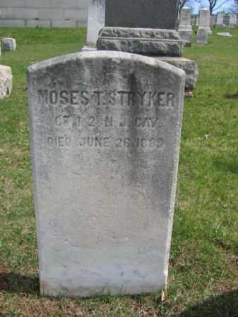 STRYKER, MOSES T. - Hunterdon County, New Jersey | MOSES T. STRYKER - New Jersey Gravestone Photos
