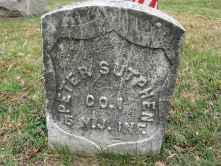 SUTPHEN, PETER - Hunterdon County, New Jersey | PETER SUTPHEN - New Jersey Gravestone Photos