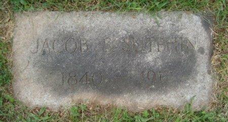 SUTPHIN, JACOB S. - Hunterdon County, New Jersey | JACOB S. SUTPHIN - New Jersey Gravestone Photos