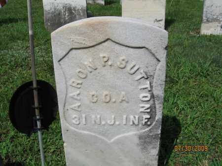 SUTTON, AARON P. - Hunterdon County, New Jersey | AARON P. SUTTON - New Jersey Gravestone Photos