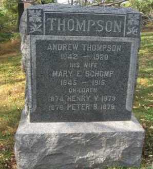 THOMPSON, ANDREW - Hunterdon County, New Jersey   ANDREW THOMPSON - New Jersey Gravestone Photos