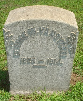 VAN SYCKEL, GEORGE W. - Hunterdon County, New Jersey | GEORGE W. VAN SYCKEL - New Jersey Gravestone Photos