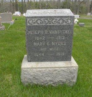 VAN SYCKEL, JOSEPH F. - Hunterdon County, New Jersey | JOSEPH F. VAN SYCKEL - New Jersey Gravestone Photos